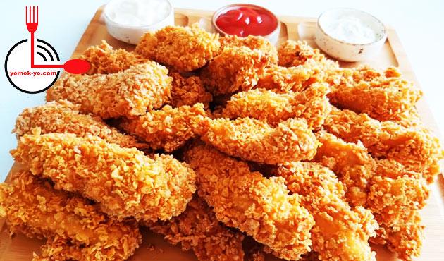 KFC ve POPEYES Tadında Çıtır Tavuk Tarifi