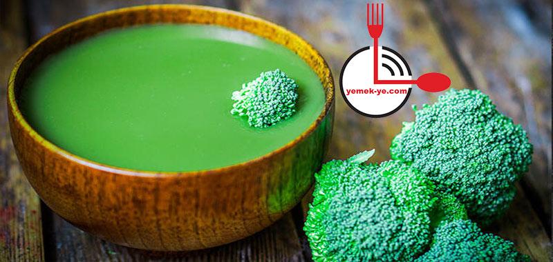 Brokoli Yeşil Detoks Çorbası Tarifi