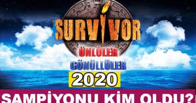 2020 Survivor Şampiyonu Kim Oldu?