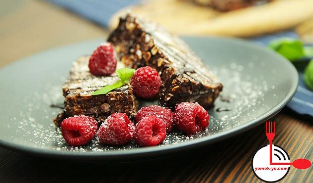 Şekersiz Diyet Mozaik Pasta Tarifi