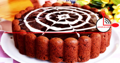 Çikolata Soslu Yumuşak Sütsüz Kek Tarifi