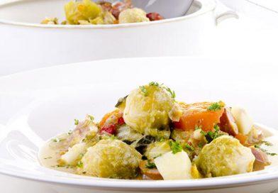 Havuçlu ve patatesli Brüksel lahanası tarifi