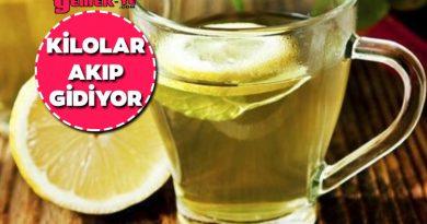 1 Ayda 10 Kilo Verdiren Diyet Çay Tarifi 😍